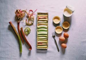 Passion tarte à la rhubarbe