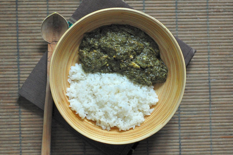 Un p'tit plat du Congo : Le Saka-saka