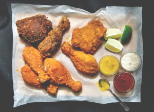 Fried Chicken Maison {et sauces maison…}