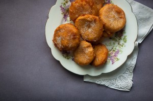 Grandma's orange doughnuts